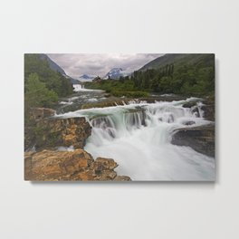 Mountain Paradise Metal Print