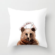 BEAUTY / Nr. 2 Throw Pillow