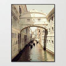 ponte dei sospiri Canvas Print
