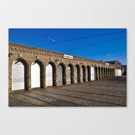 Old tram depot of Berlin Canvas Print