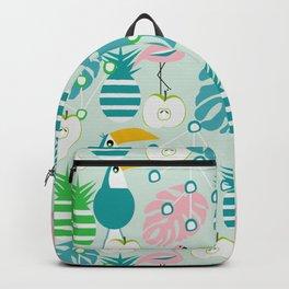 Modern tropical summer vibes Backpack