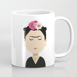 Frida Kahlo Cartoon Coffee Mug