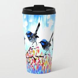 Fairy Wrens Travel Mug