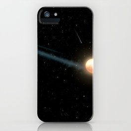 Artist's Impression - Tabby's Star with uneven orbiting ring of dust (2017) iPhone Case