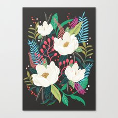 The Garden of Alice, flower, floral, blossom art print Canvas Print