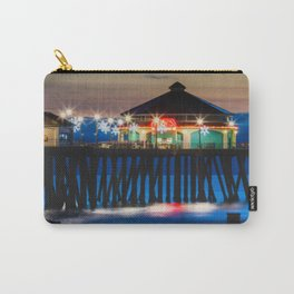 A Winters Night At Surf City Carry-All Pouch
