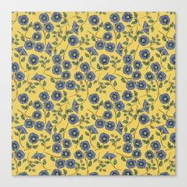 Floral Wisps Canvas Print