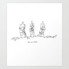 And Never Die. Art Print