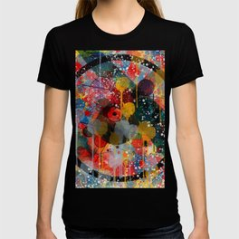 Kandinsky Action Painting Street Art Colorful T-shirt