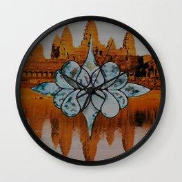 Mirror Mazes  Wall Clock