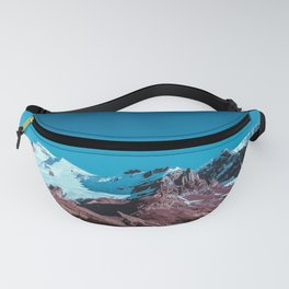 Clear Blue Bright Night Sky Fanny Pack