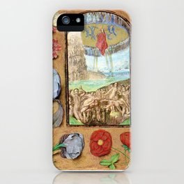 Seven Penitential Psalms - Master of Mary of Burgundy iPhone Case
