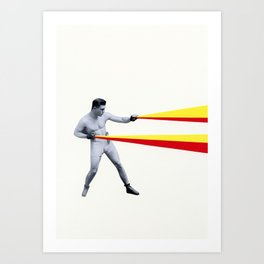 A Force To Be Reckoned With Art Print