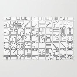 Printed Pixels Rug