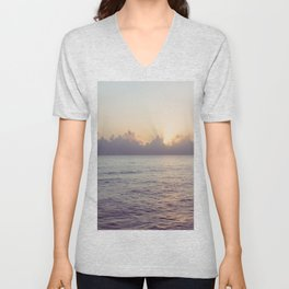 There is a Whale in the Sky Unisex V-Neck