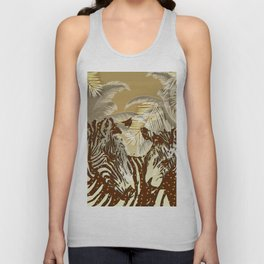 African night Unisex Tank Top
