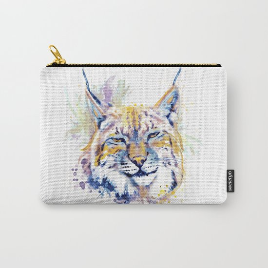 Bobcat Head Carry-All Pouch
