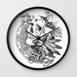 DEATH Wall Clock