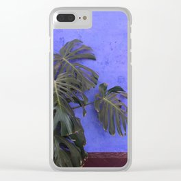 Arequipa Plants v.4 Clear iPhone Case