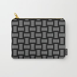 Geometric Pattern 131 (Industrial floor) Carry-All Pouch