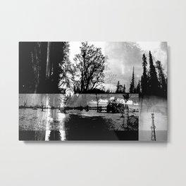 Analog/Digital Morning Metal Print