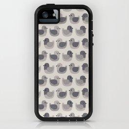 Cute Simple Pigeons iPhone Case