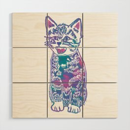 What's New Pussycat? Wood Wall Art