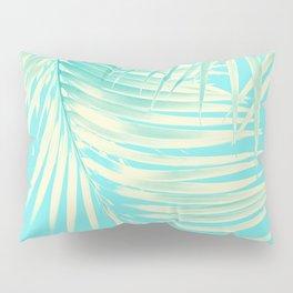 Palm Leaves Summer Vibes #4 #tropical #decor #art #society6 Pillow Sham