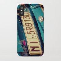 porsche iPhone & iPod Cases featuring Porsche by Sébastien BOUVIER
