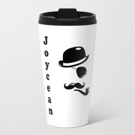 """Joycean"" James Joyce Print Travel Mug"