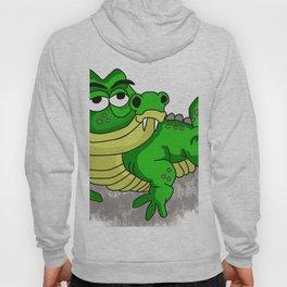 Crocodile smiling Hoody