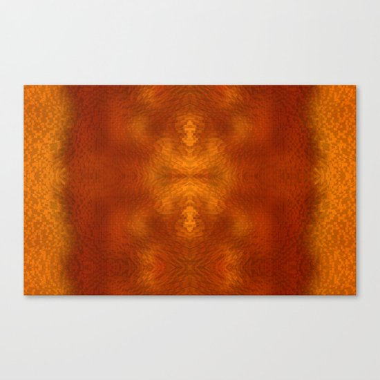 Alien within Canvas Print