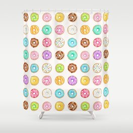 I Donut know what I'd do without you Shower Curtain