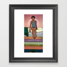 & The Pea Framed Art Print