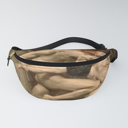 Dante and Virgil in Hell Fanny Pack