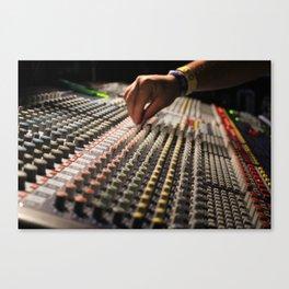 Festival Soundboard Photo Canvas Print