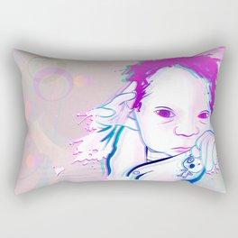 New Born Sphere Rectangular Pillow