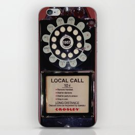 Public Telephone - case iPhone Skin