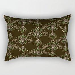Seamless beautiful antique lace pattern Rectangular Pillow