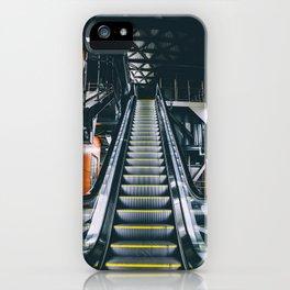 Escalators iPhone Case