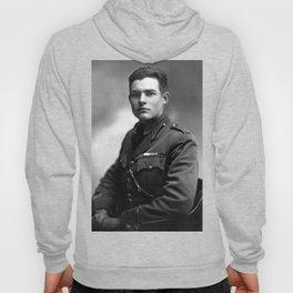 Ernest Hemingway in Uniform, 1918 Hoody