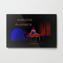 Electrified Adelaide Metal Print