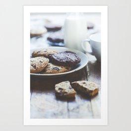 still life bakery Art Print