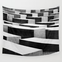 berlin Wall Tapestries featuring Berlin by Studio Laura Campanella