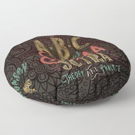 Kama Sutra Lessons Floor Pillow