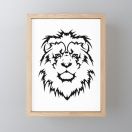 lion Framed Mini Art Print