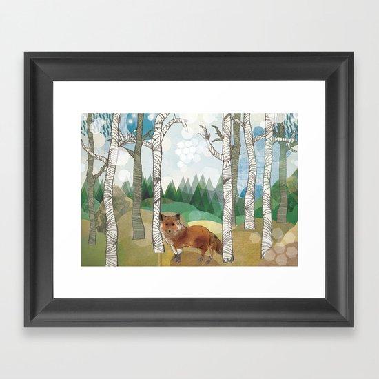 Woodland Framed Art Print