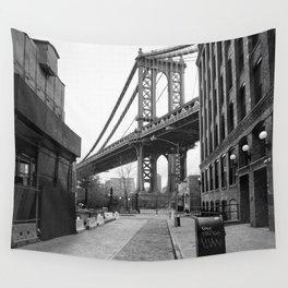 Down Under The Manhattan Bridge Overpass Wall Tapestry