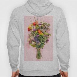 Wild flower bouquet Hoody