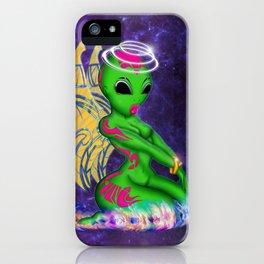 Alien Angel iPhone Case